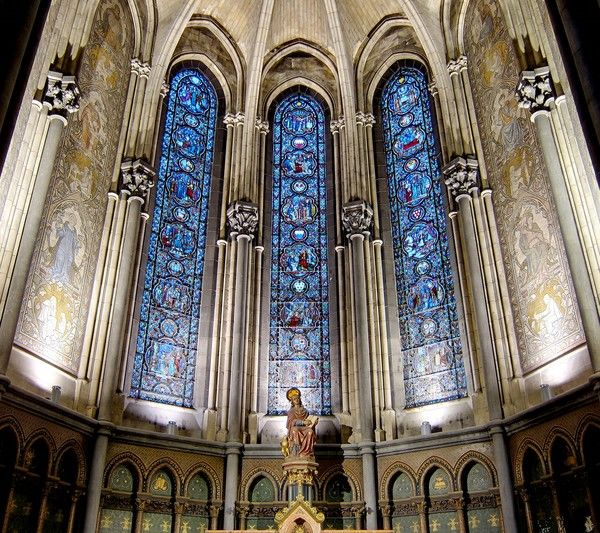 Lille cathedrale notre dame de la treille centerblog - Eglise notre dame de la treille lille ...