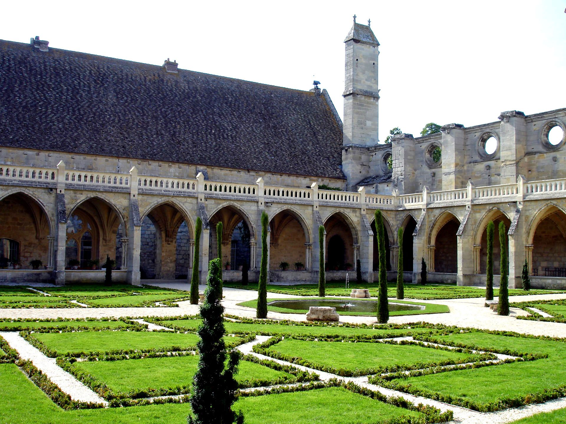 Photo abbaye de royaumont 95 val d 39 oise - Chambre des notaires val d oise ...