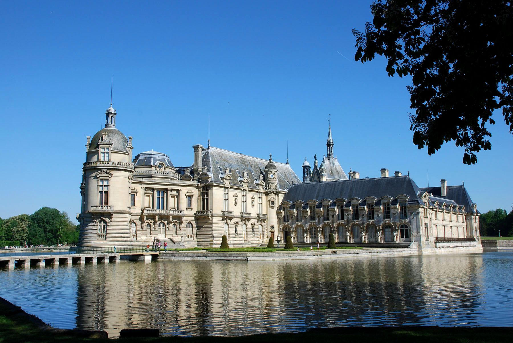Chateau de chantilly 60 oise for Chantilly photo