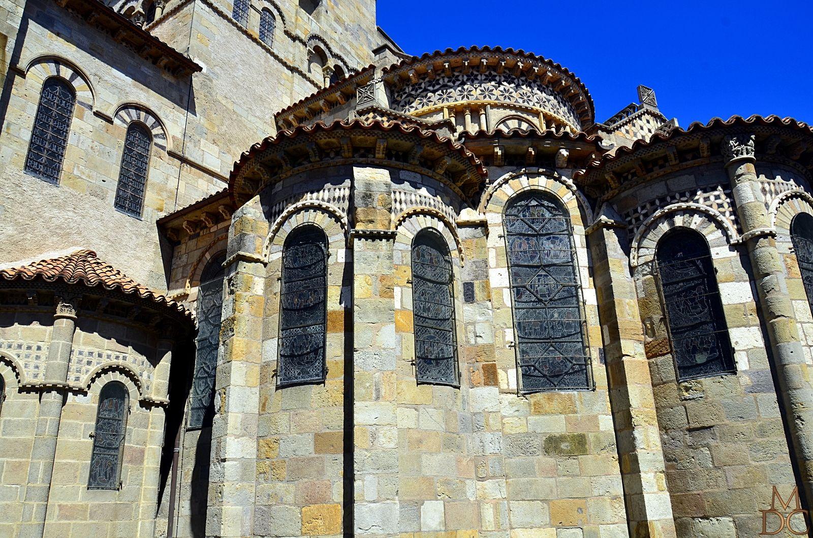 Basilique romane notre dame du port 63 clermont ferrand - Rue du port clermont ferrand ...