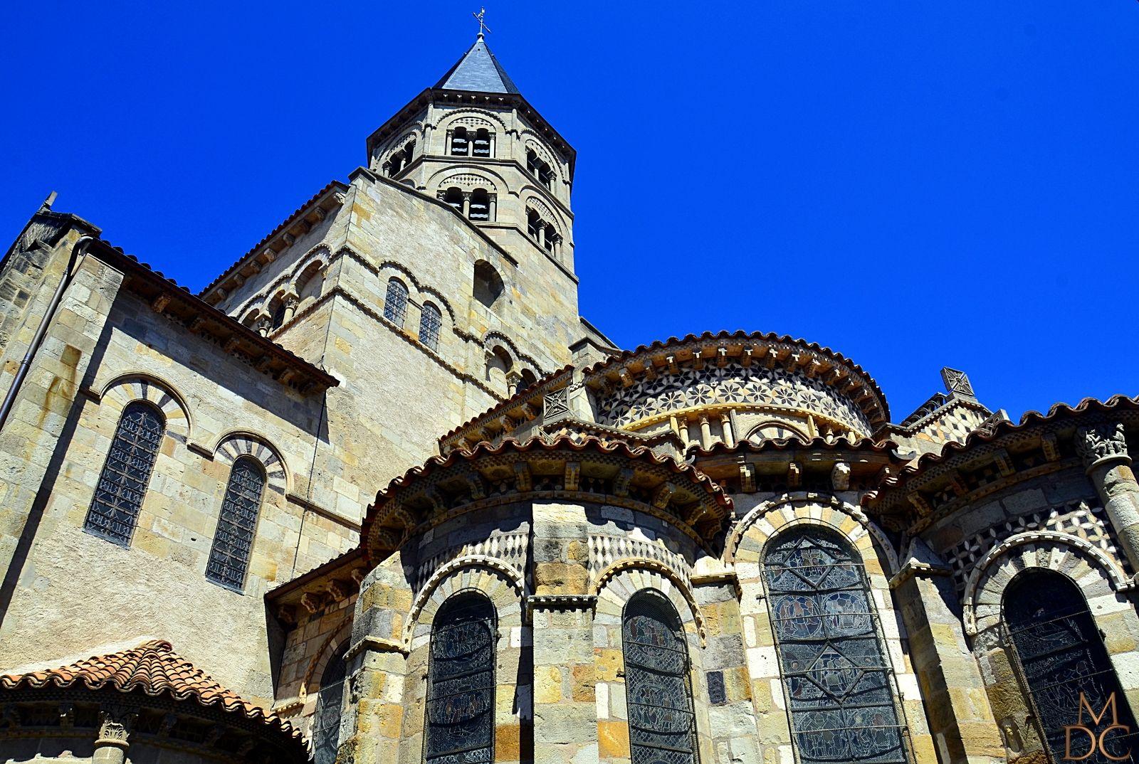 Basilique romane notre dame du port 63 clermont ferrand - Basilique notre dame du port ...